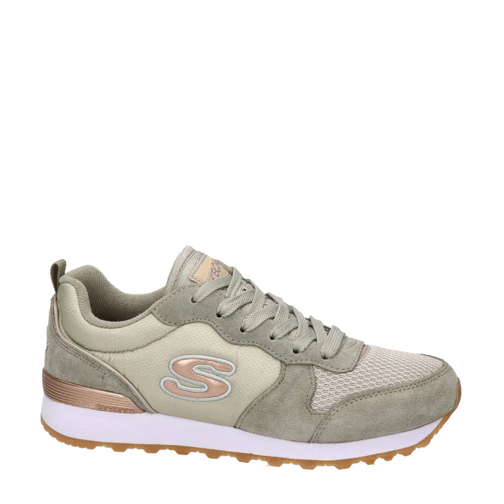 Skechers   suède sneakers taupe, Taupe