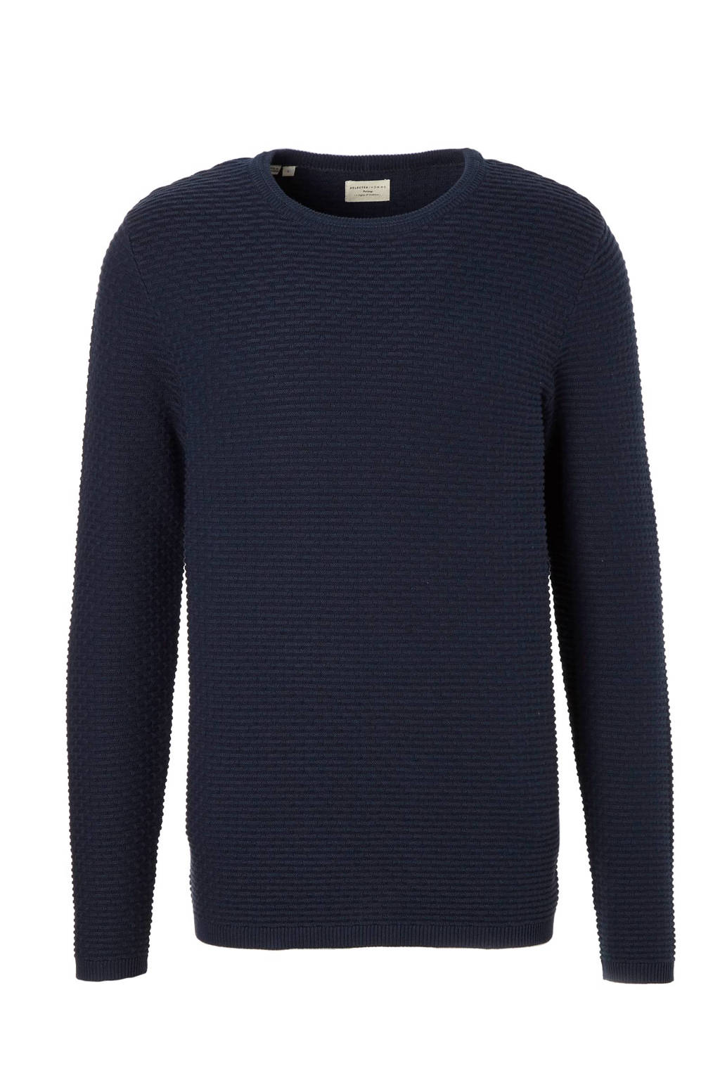 SELECTED HOMME Newdean trui, Donkerblauw