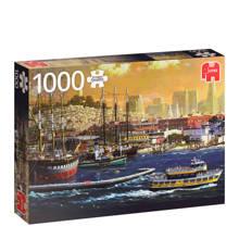 Premium Quality the harbour San Francisco  legpuzzel 1000 stukjes