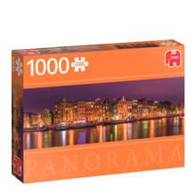 Premium Quality panorama Amsterdam  legpuzzel 1000 stukjes