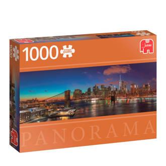 Premium Quality panorama New York  legpuzzel 1000 stukjes