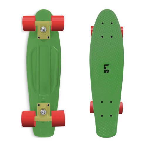 RAM Old School 22 inch Longboard Melon Green