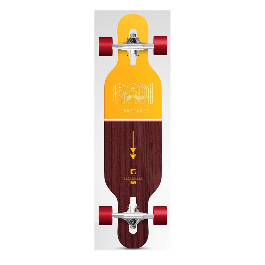 """Tony Hawk Ciemah Micro 34"""" longboard, Geel"""