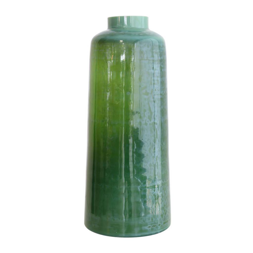 HKliving vaas, Groen/blauw