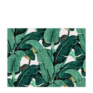wanddecoratie Banana Leaf (160x120 cm)  (160x120 cm cm)
