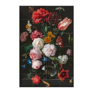wanddecoratie Still Life With Flowers (80x120 cm)