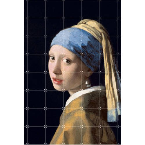 IXXI Girl with a pearl earring, Mauritshuis-large (140 x 160 cm)