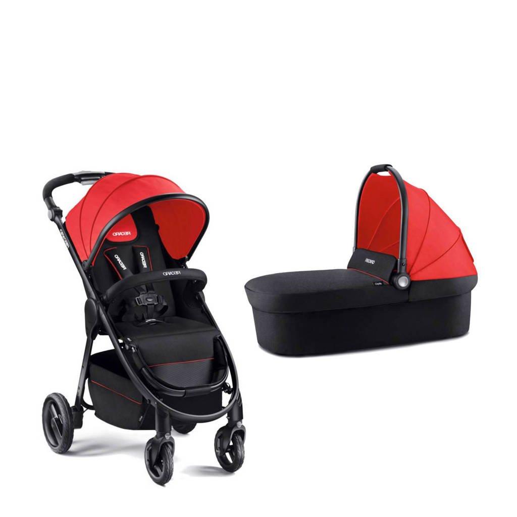 Recaro Citylife kinder-en wandelwagen rood, Rood