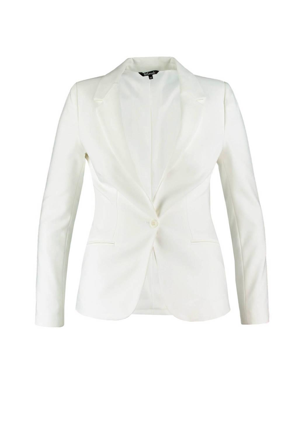 MS Mode blazer, Wit