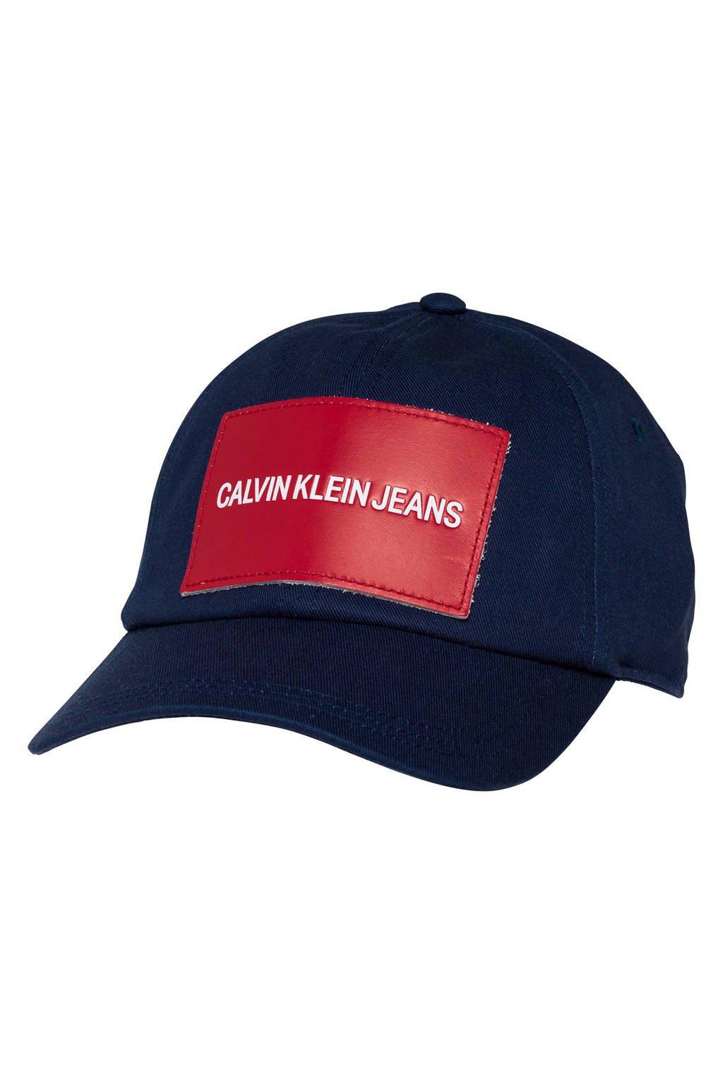 Calvin Klein Jeans pet, Blauw/rood
