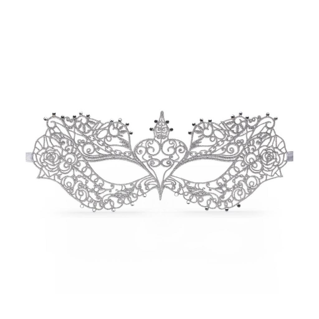 Fifty Shades Darker Anastasia masquerade mask - wit