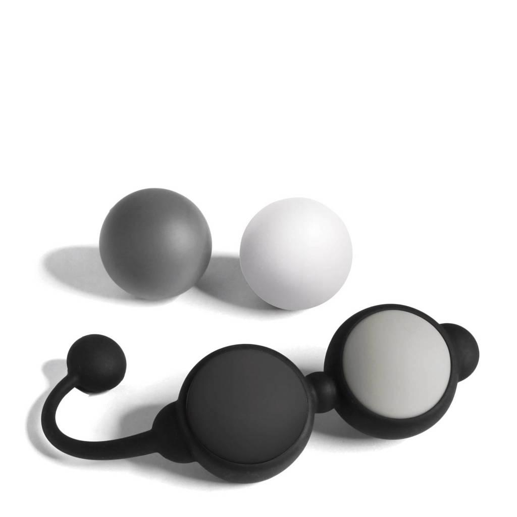 Fifty Shades of Grey kegel ballen bekkenbodem trainingsset - zwart, Zwart