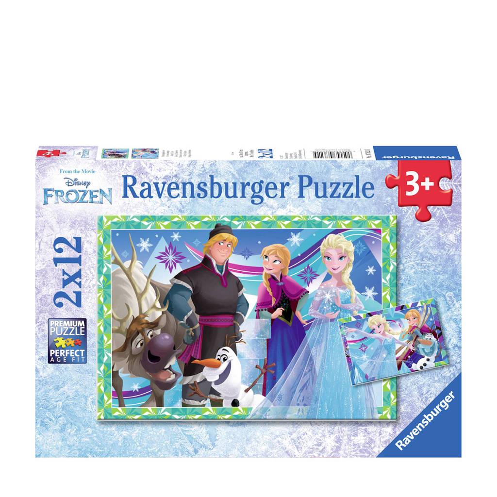 Ravensburger Disney Frozen plezier in de winter  legpuzzel 24 stukjes