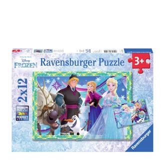 Disney Frozen plezier in de winter  legpuzzel 24 stukjes