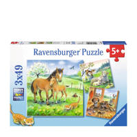 Ravensburger knuffeltijd  legpuzzel 147 stukjes
