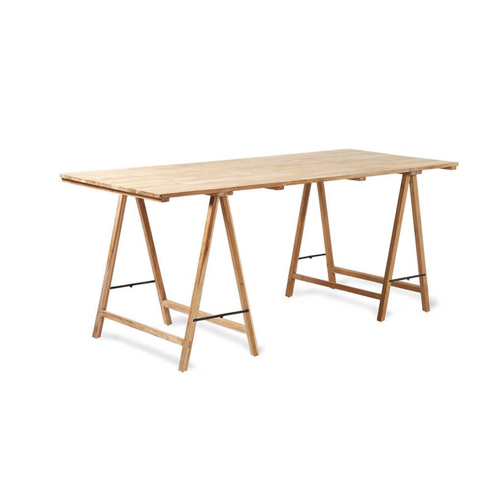 HKliving schragentafel, Naturel hout