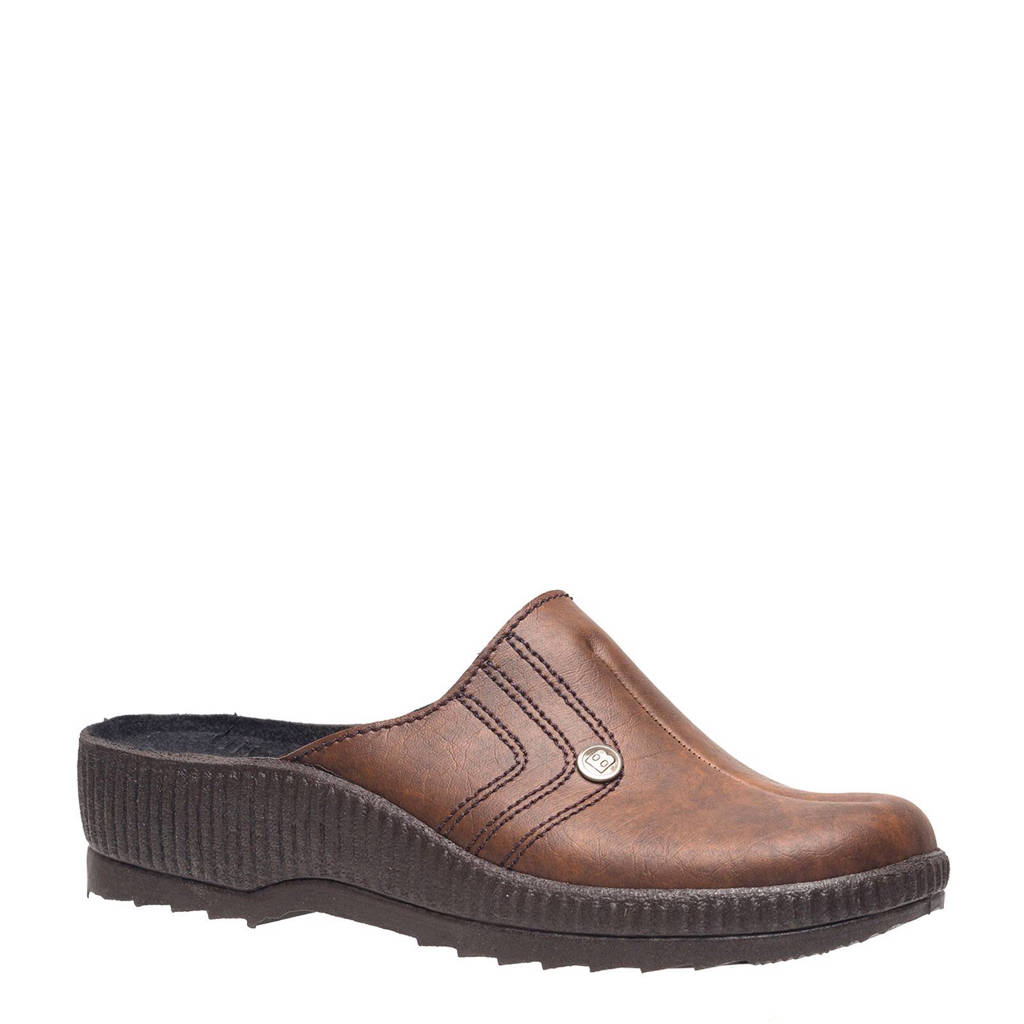 Scapino Blenzo pantoffels, Bruin
