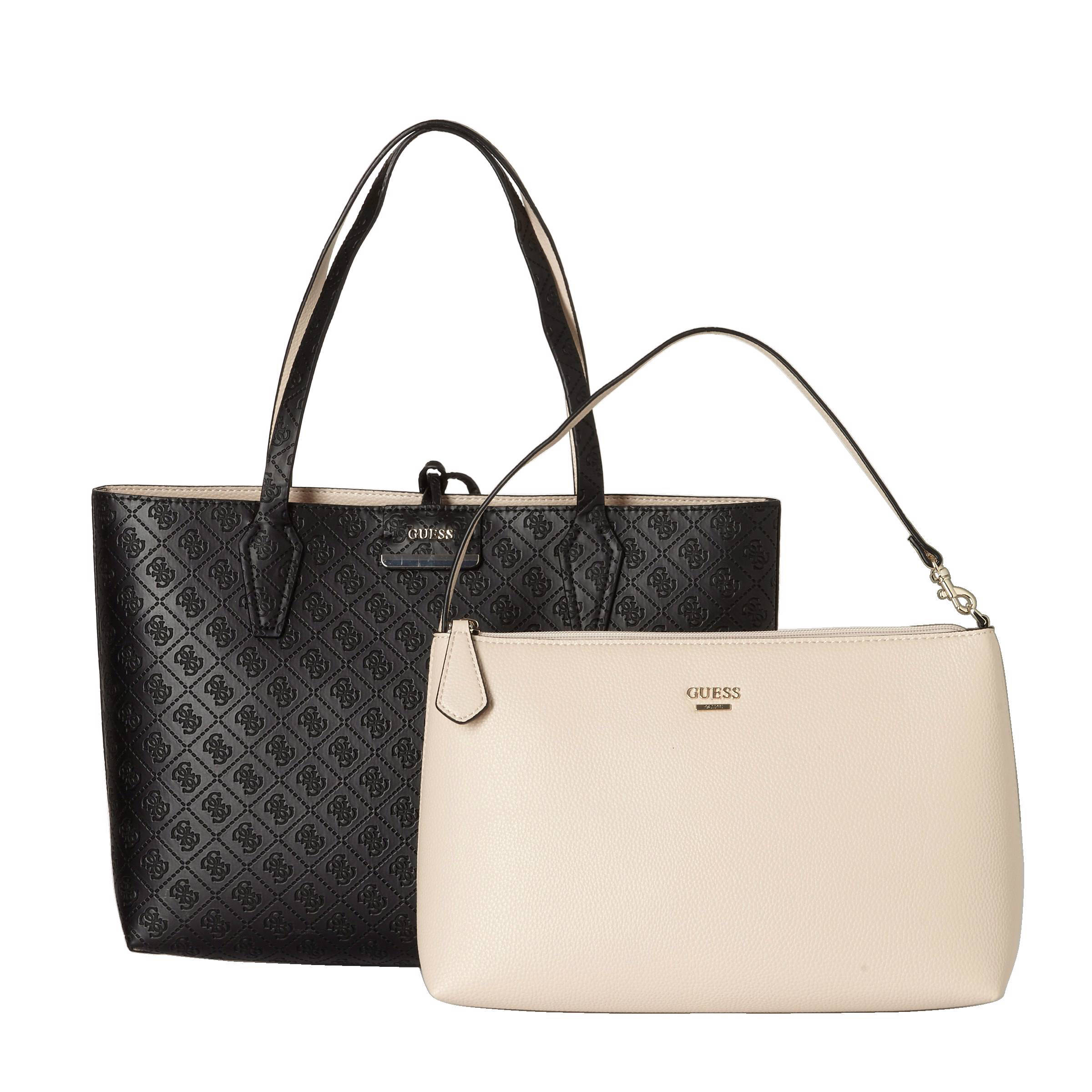 GUESS BOBBI INSIDE OUT TOTE handtas Bobbi reversible | wehkamp