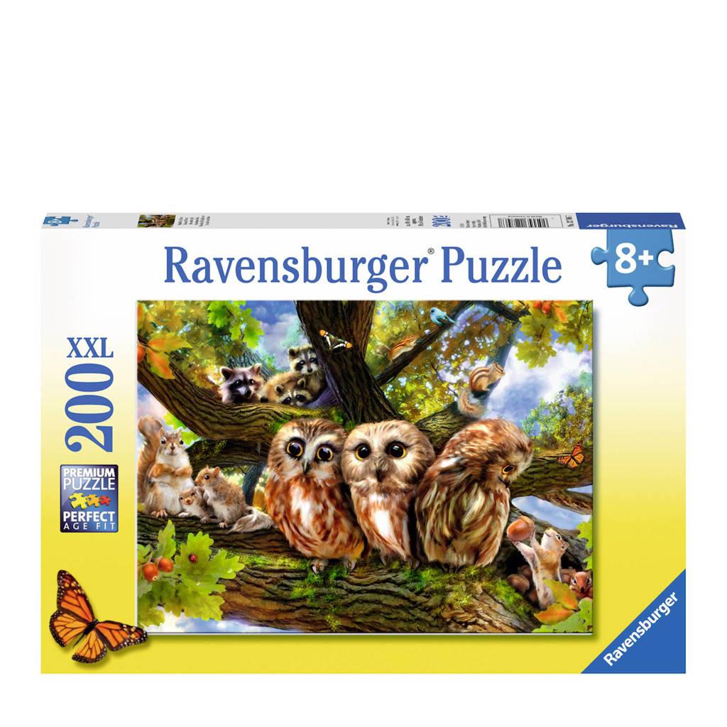 Ravensburger uilen  legpuzzel 200 stukjes