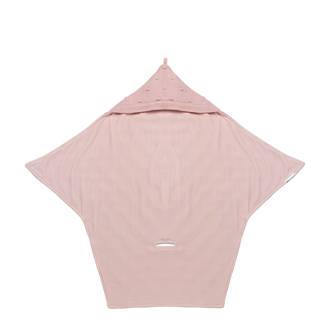 Silverline Knots wikkeldeken roze