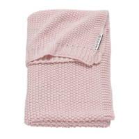 Meyco Silverline Relief Mixed baby ledikantdeken 100x150 cm roze, Roze