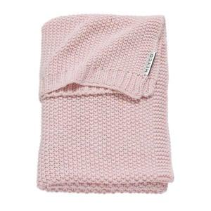 Silverline Relief Mixed baby ledikantdeken 100x150 cm roze