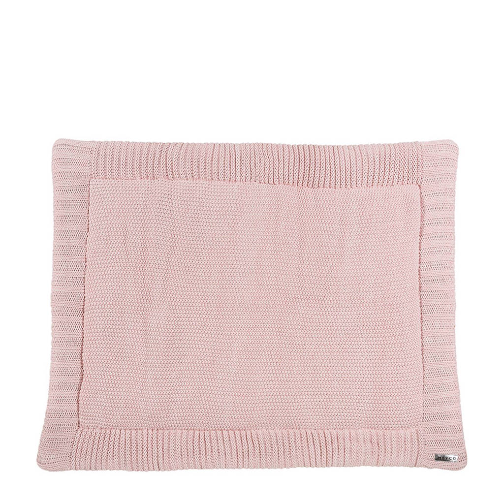 Meyco Silverline Relief Mixed boxkleed 77x97 cm roze, Roze