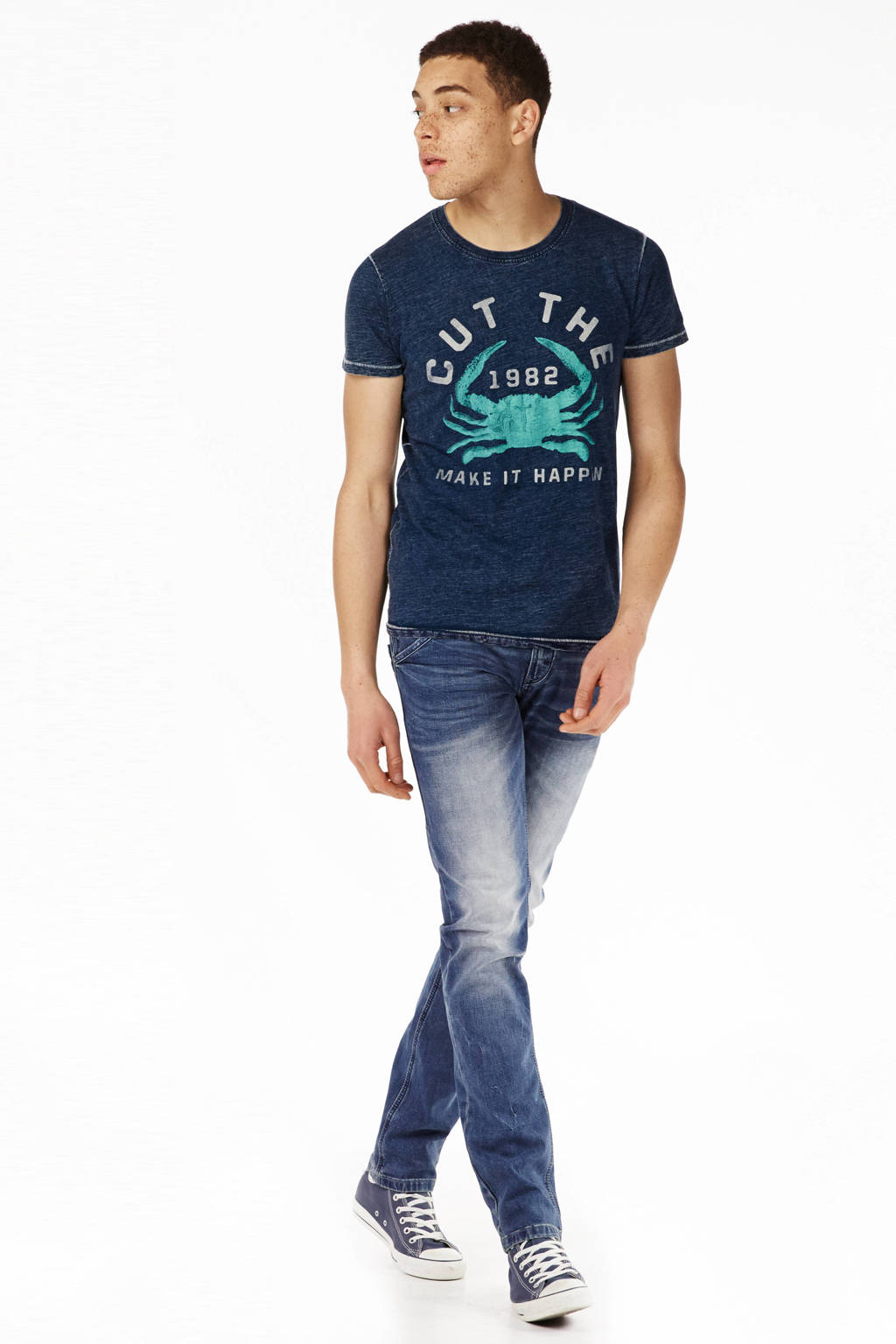 Cars Yareth slim fit jeans, Dark pittsfield wash
