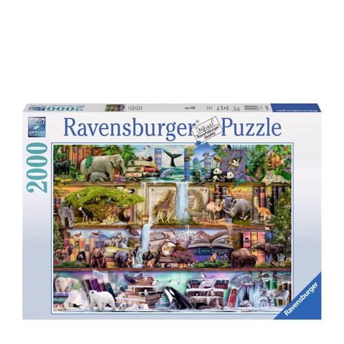 Ravensburger Aimee Stewart; dierenwereld legpuzzel 2000 stukjes