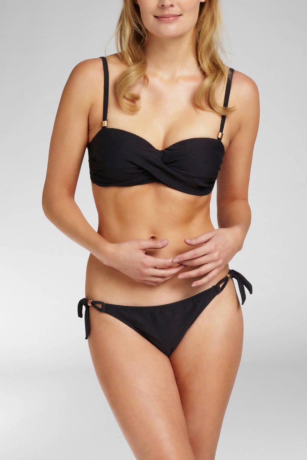 Cyell strik bikinibroekje, Zwart