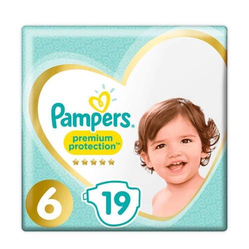 Pampers Premium Protection maat 6 (13+ kg) 19 luiers kopen