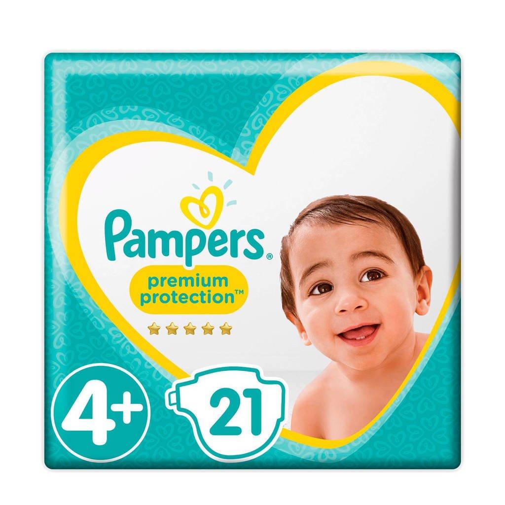 Pampers Premium Protection maat 4+ (10-15 kg) 21 luiers