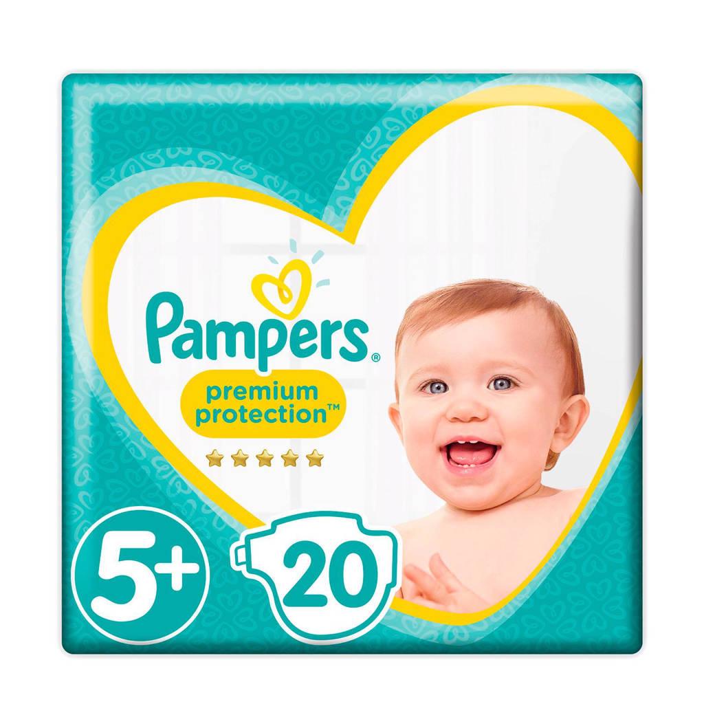 Pampers Premium Protection maat 5+ (12-17 kg) 20 luiers