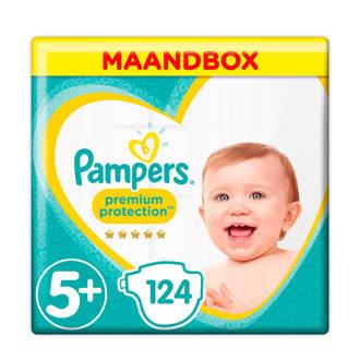 Premium Protection maandbox maat 5+ (12-17 kg) 124 luiers