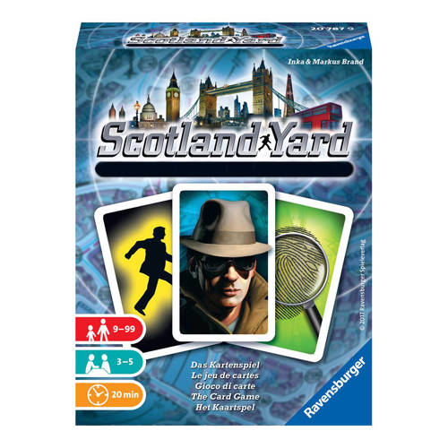 Ravensburger Scotland Yard kaartspel kopen