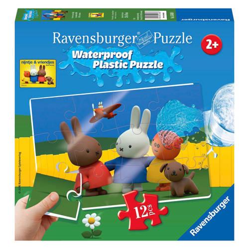 Ravensburger nijntje waterproof plastic legpuzzel 12 stukjes kopen