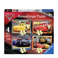 Ravensburger Disney Cars 3 viers  legpuzzel 72 stukjes