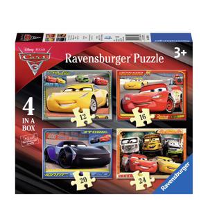 Disney Cars 3 viers  legpuzzel 72 stukjes