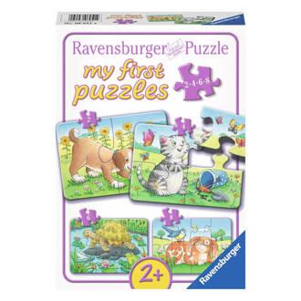 schattige huisdieren  legpuzzel 20 stukjes