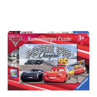 Ravensburger Cars 3 twee  legpuzzel 24 stukjes