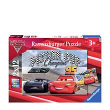 Cars 3 twees  legpuzzel 24 stukjes