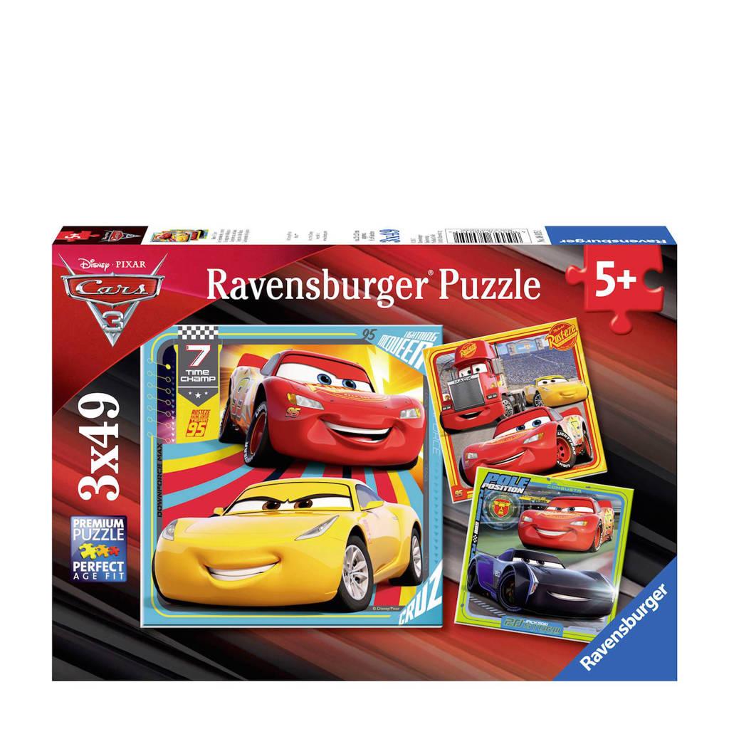 Ravensburger Cars 3 dries  legpuzzel 147 stukjes