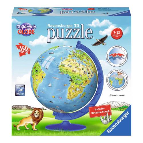 Ravensburger XXL Kinder globe 3D puzzel 180 stukjes kopen