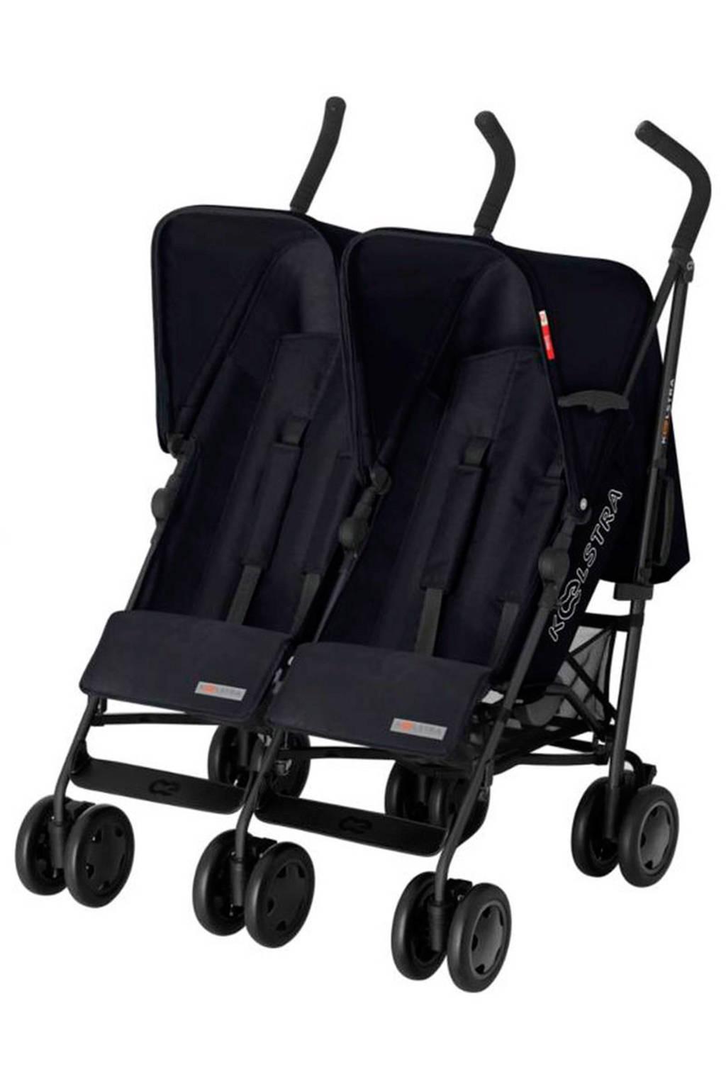 Koelstra Simba Twin T4 duo buggy zwart, Zwart