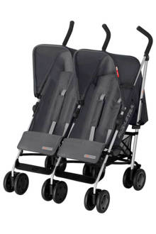 Simba Twin T4 duo buggy grijs