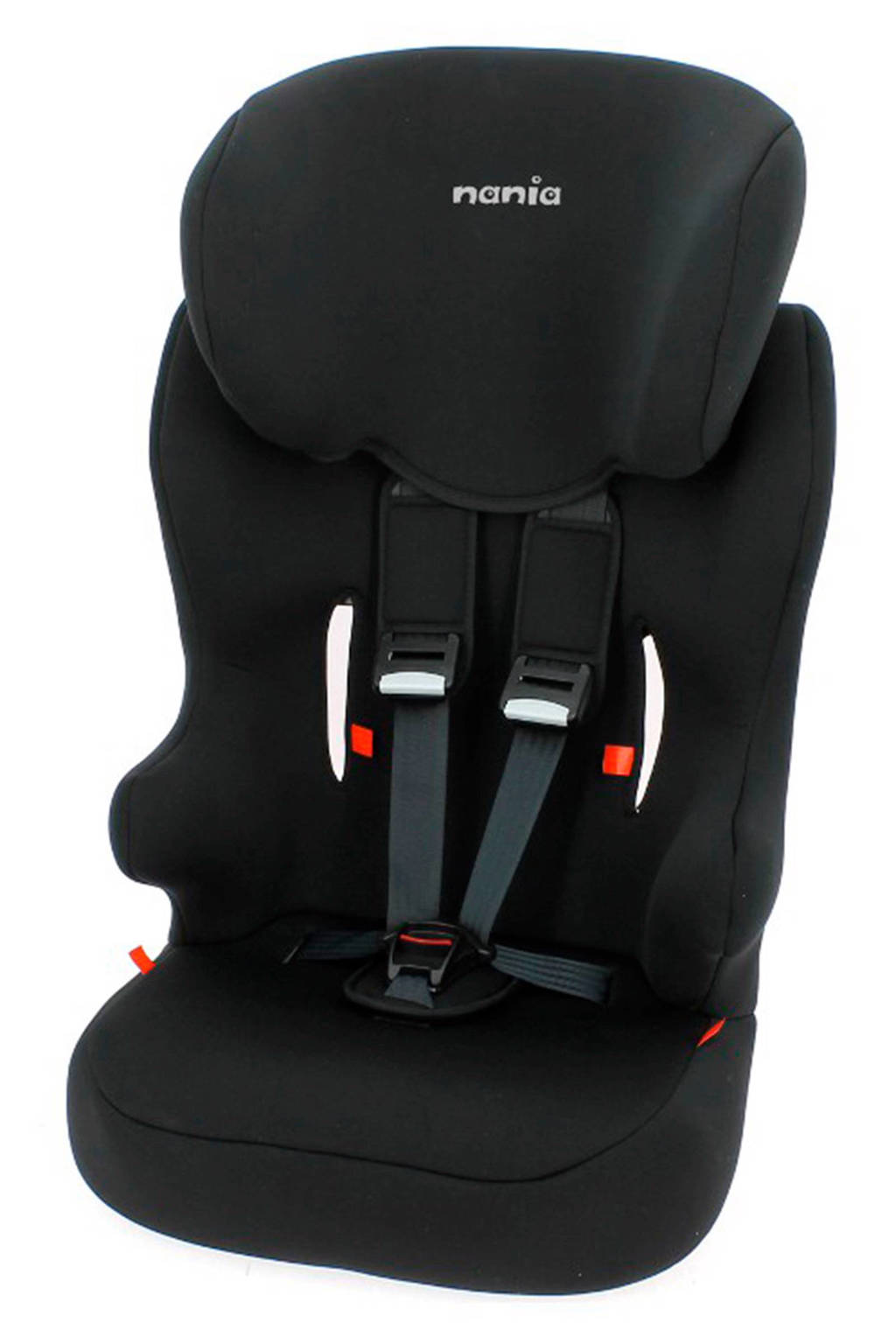 Nania Racer SP autostoel (9-36 kg) zwart, Zwart, 1-2-3