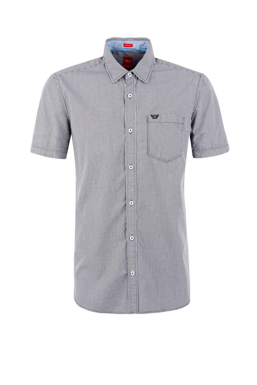 Grijs Overhemd Heren.S Oliver Red Label Regular Fit Overhemd Heren Wehkamp