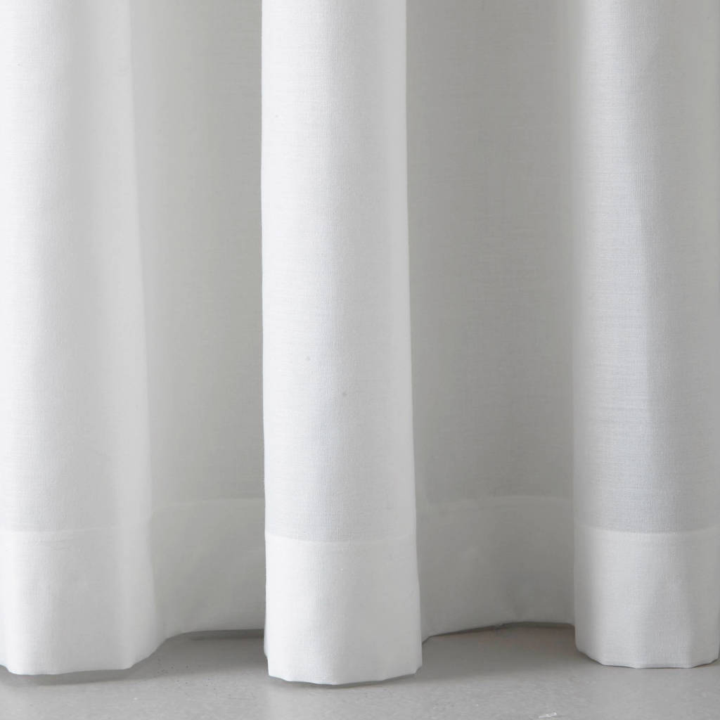 whkmp's own transparant gordijn (140x180 cm), Offwhite