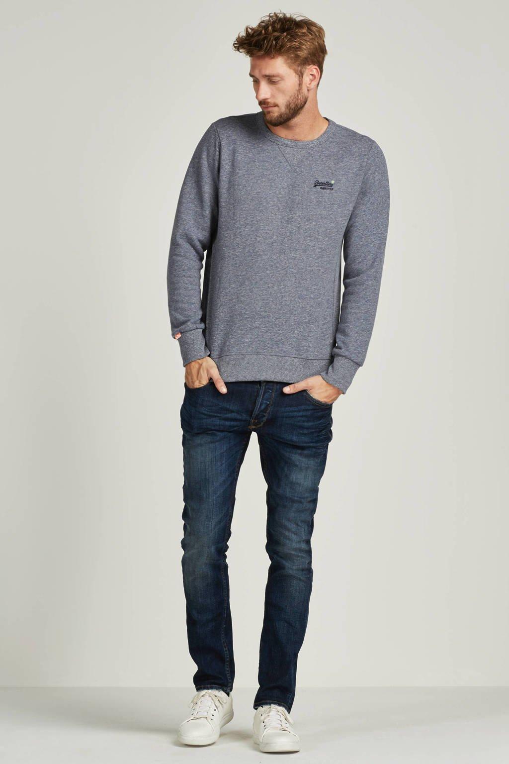 Only & Sons Loom slim fit jeans, Dark Blue