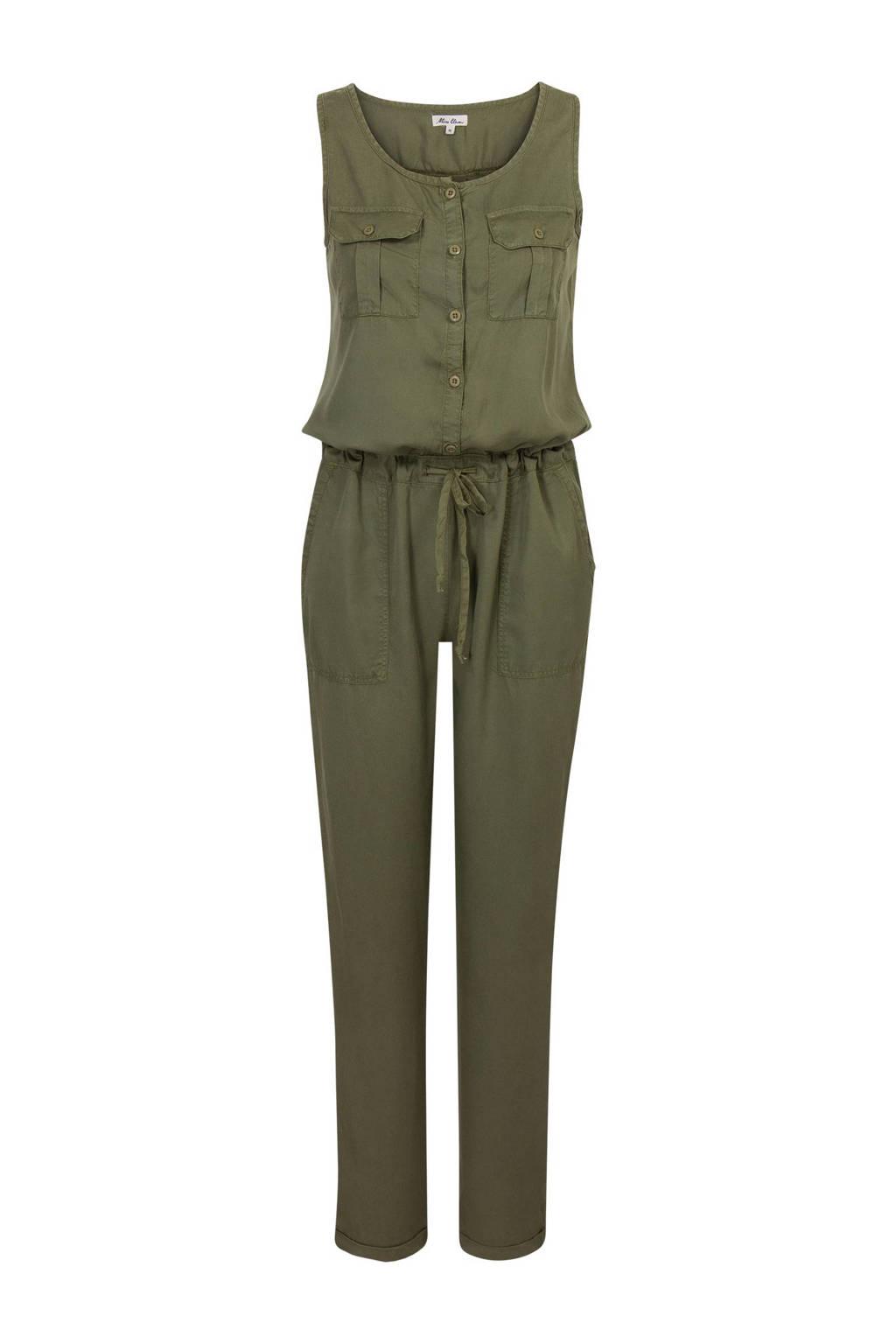 Miss Etam Regulier jumpsuit, leger groen